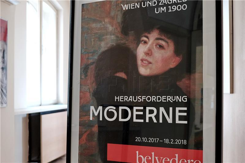 Otvorena izložba 'Izazov moderne: Beč-Zagreb oko 1900'