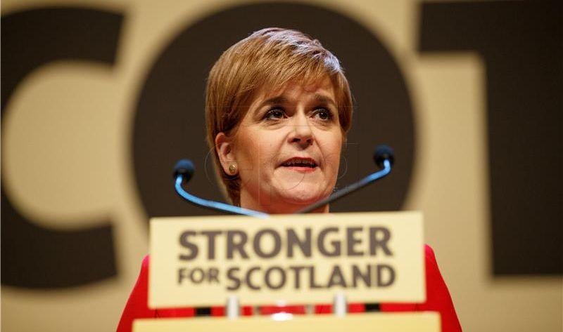 Sturgeon osuđuje pristup Španjolske referendumu u Kataloniji