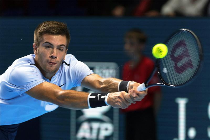 ATP BASEL Ćorić izborio meč protiv Čilića
