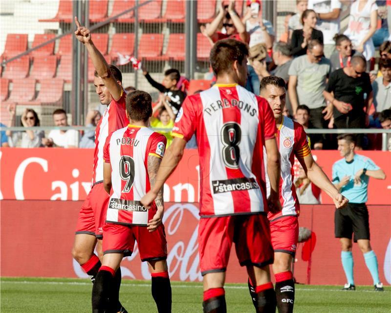Girona pobijedila Real i pomogla Barceloni