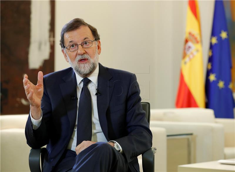 ŠPANJOLSKA Rajoy pozvao Puigdemonta na 'razum' da bi se izbjegle izvanredne mjere