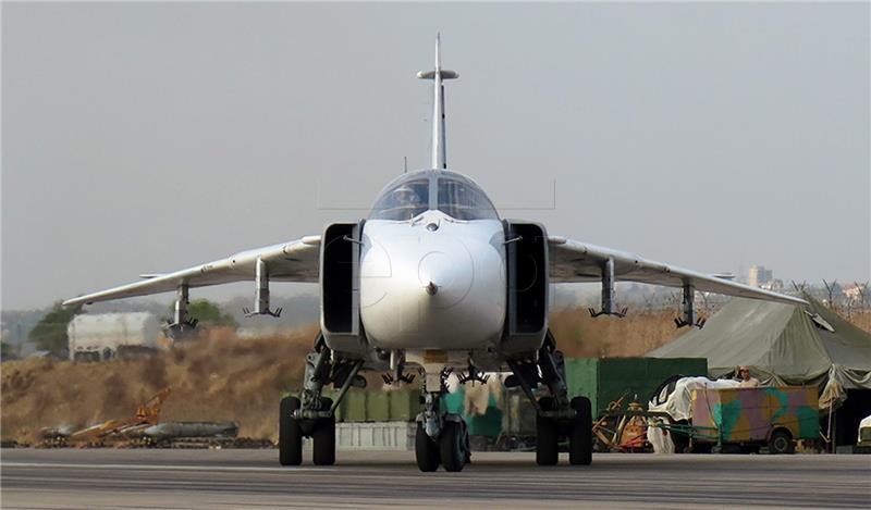 Srušio se ruski vojni zrakoplov prilikom polijetanja u Siriji
