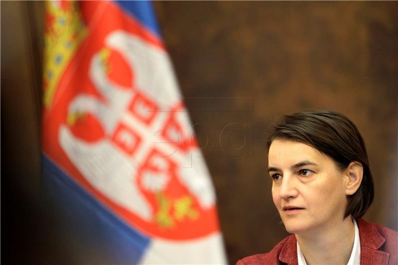 Srbijanska premijerka najavila veće mirovine i plaće u javnom sektoru
