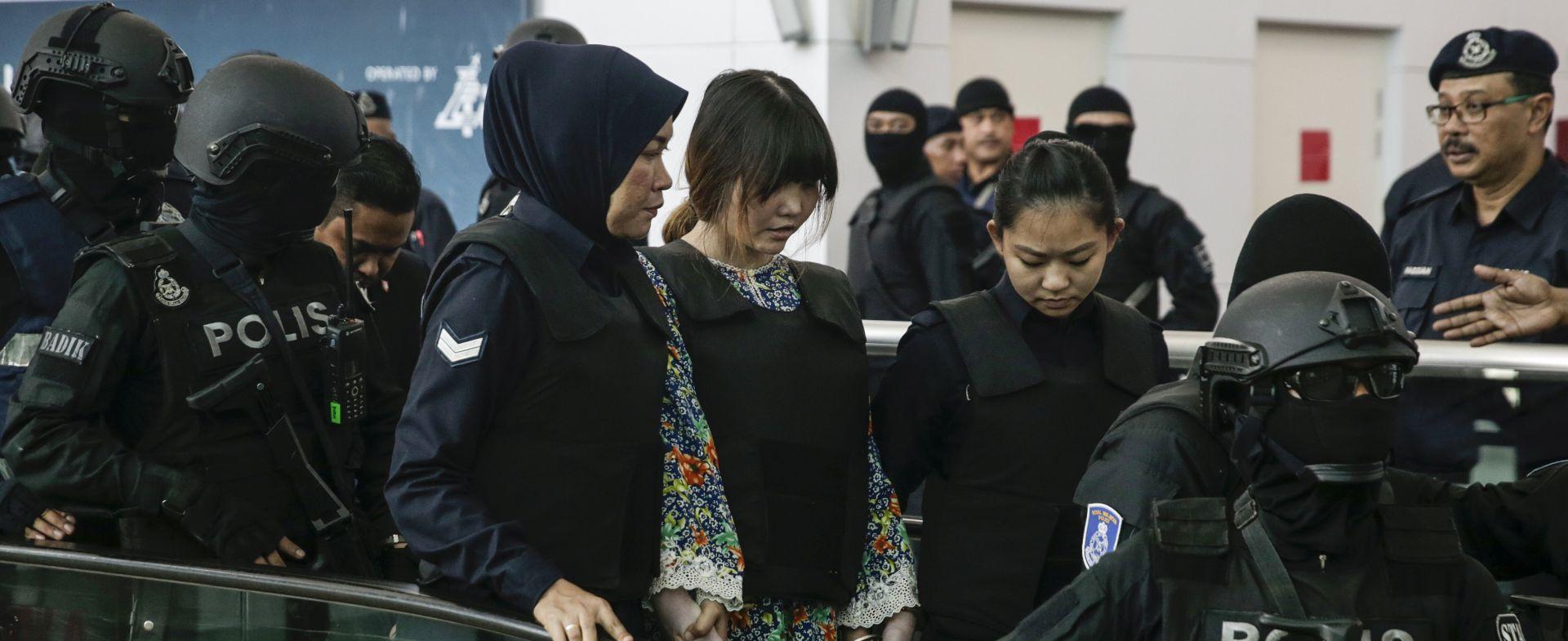 KUALA LUMPUR Optuženice za ubojstvo Kim Jong Nama obišle mjesto zločina