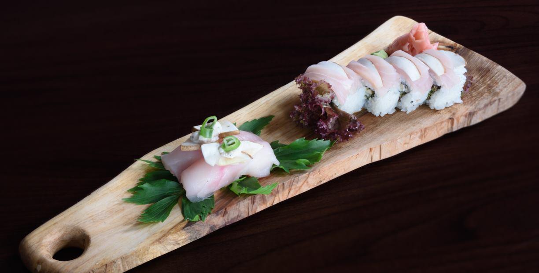 RESTORAN BOTA ŠARE Jesenski sushi od vrganja i buče