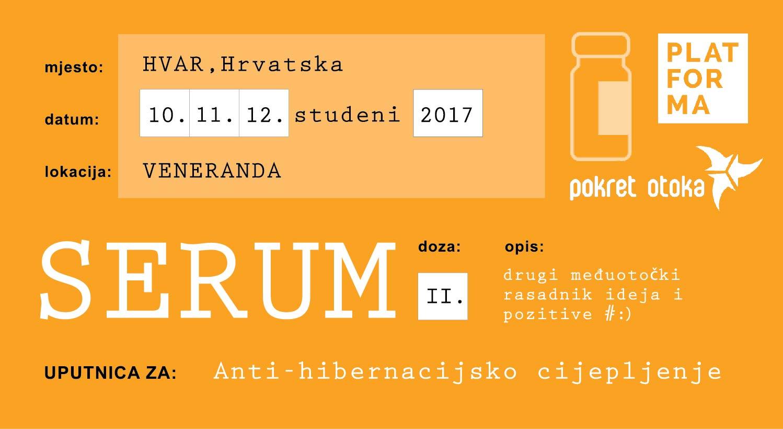 SERUM Godišnje okupljanje otočana i otočkih organizacija koje se bave društveno-kulturnim aktivnostima
