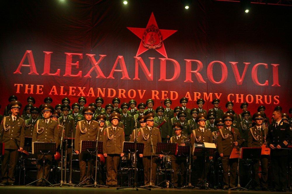 Gotovo rasprodane karte za koncert Zbora Crvene armije u Lisinskom