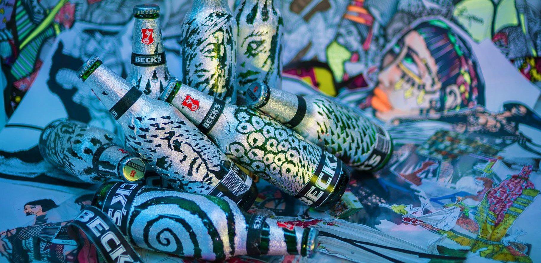 FOTO: Traje digitalna 'dizajnerska' kampanja Beck's Scratch4Art