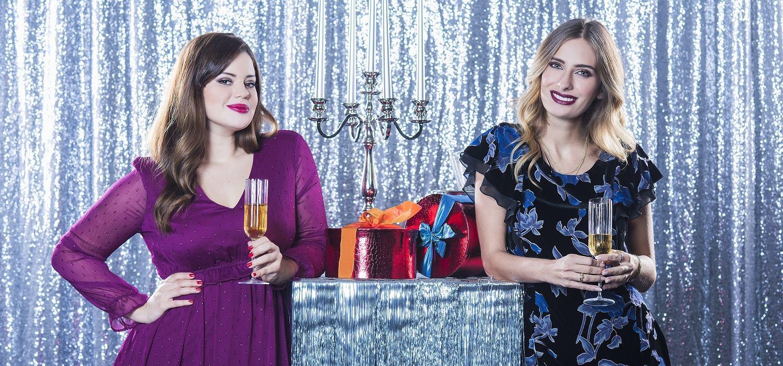 FOTO: Isabella Rakonić i Lucija Lugomer su zaštitna lica blagdanske C&A kolekcije