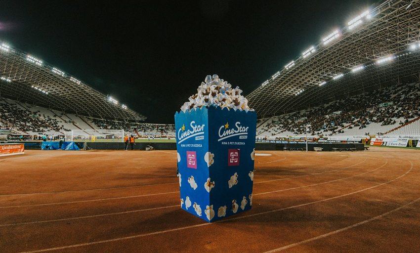 FOTO: Na poljudskoj utakmici se pojavile ogromne CineStar kokice