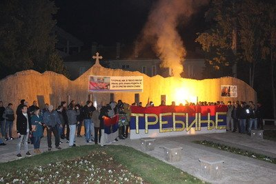 Stotinjak Trebinjana prosvjeduje zbog presude Ratku Mladiću