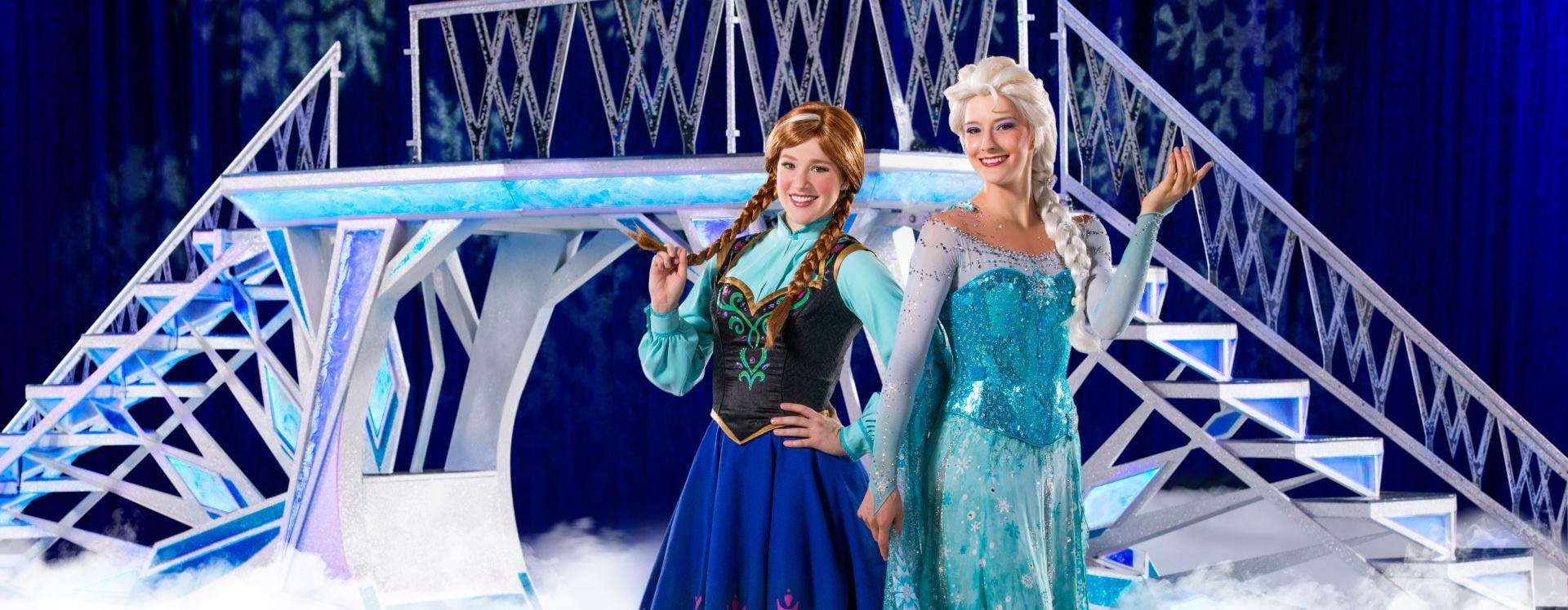 FOTO: VIDEO: Disney na ledu predstavlja spektakl 'Čarobna kraljevstva'