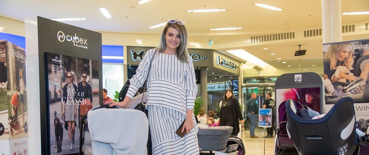 WESTGATE Ella Dvornik shoppingirala na Danima beba, djece i trudnica