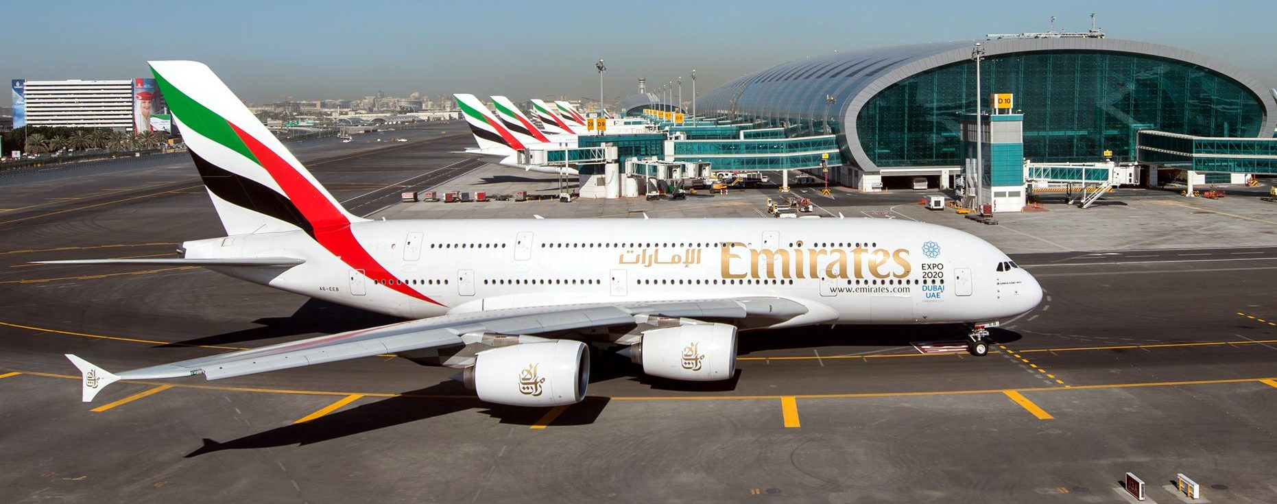 FOTO: Stoti Airbus A380 u floti aviokompanije Emirates
