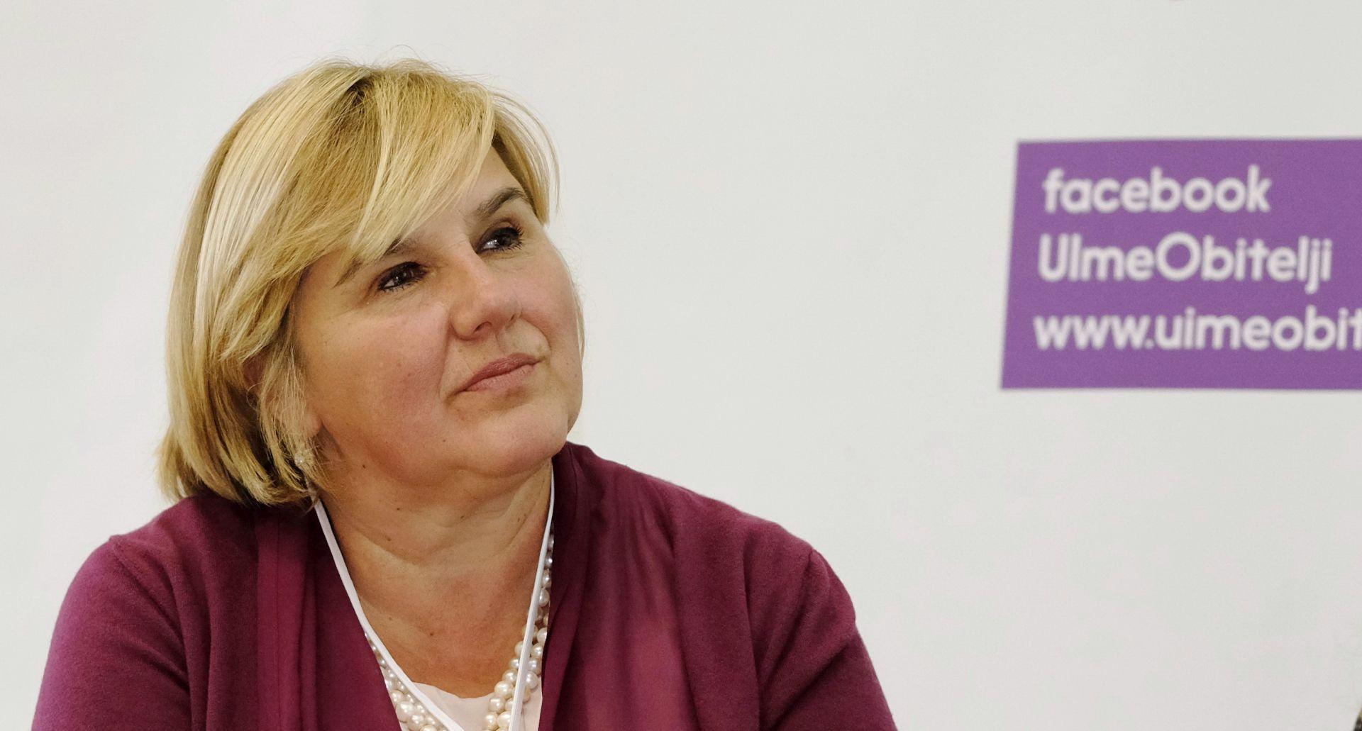 Kaznena prijava protiv Markić i 'U ime obitelji'