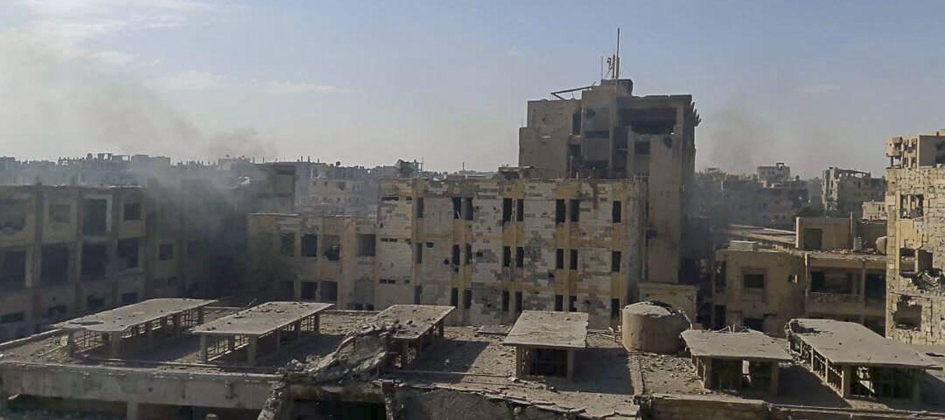 SIRIJA Vojska osvojila i posljednje urbano uporište IS-a i proglasila pobjedu
