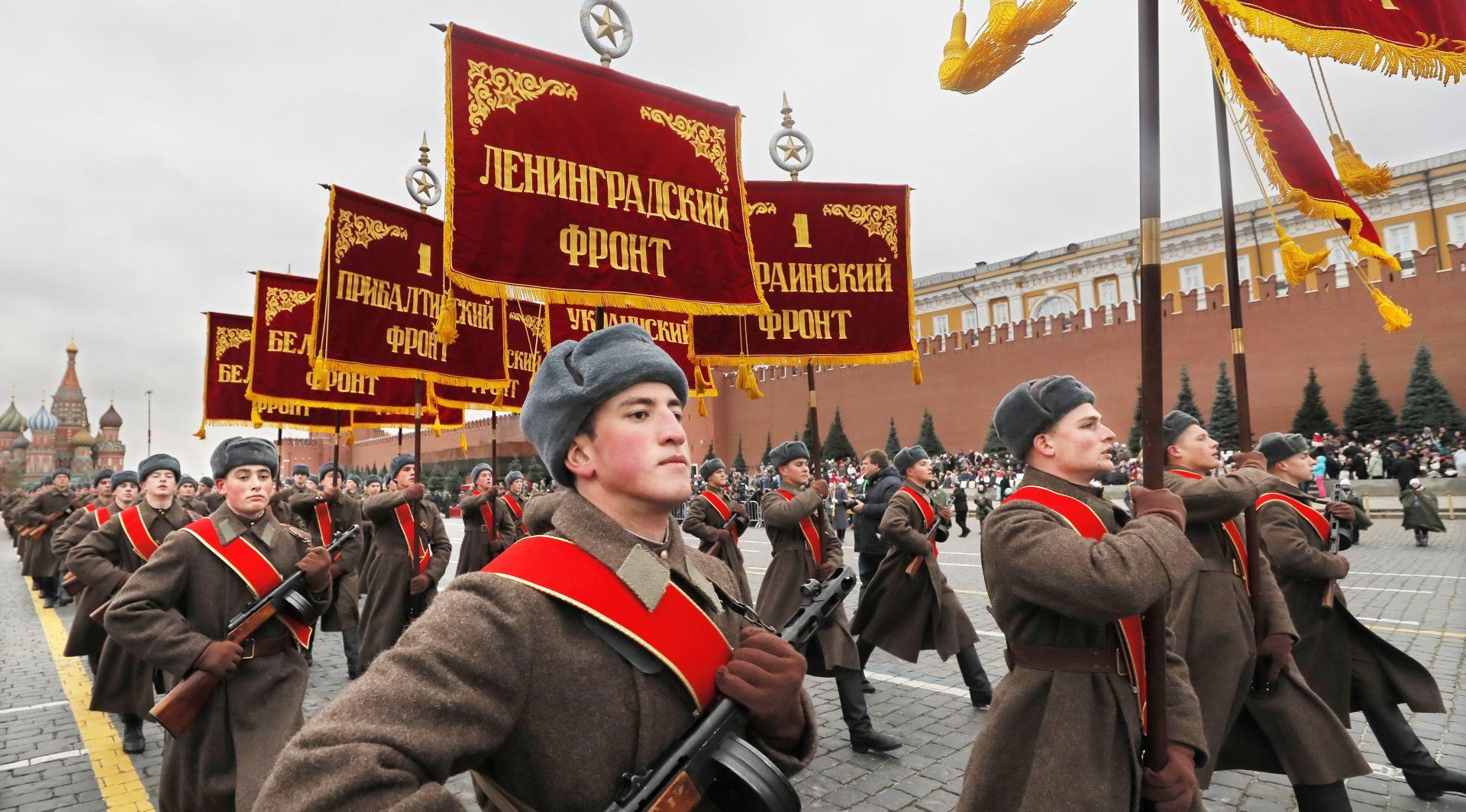 Stota godišnjica Oktobarske revolucije u Rusiji prolazi tiho
