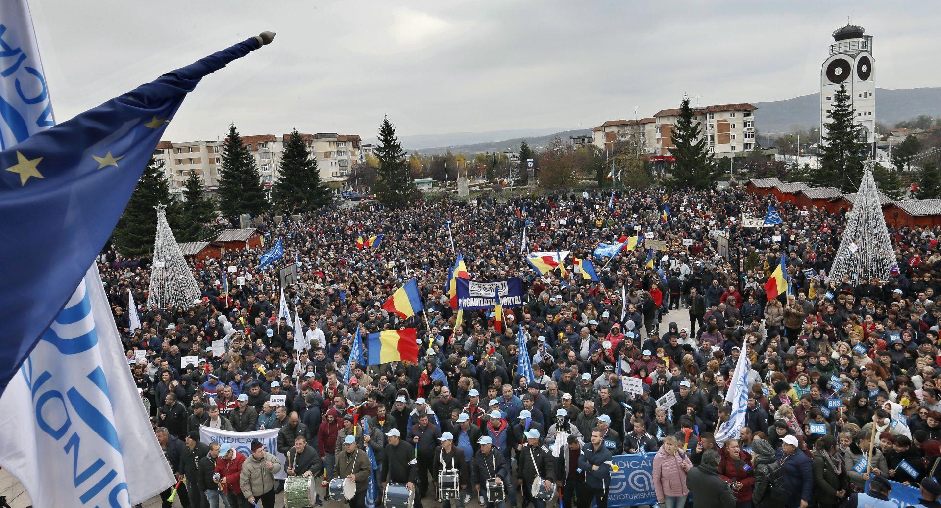 Rumunji na ulicama ponovno brane protukorupcijske zakone