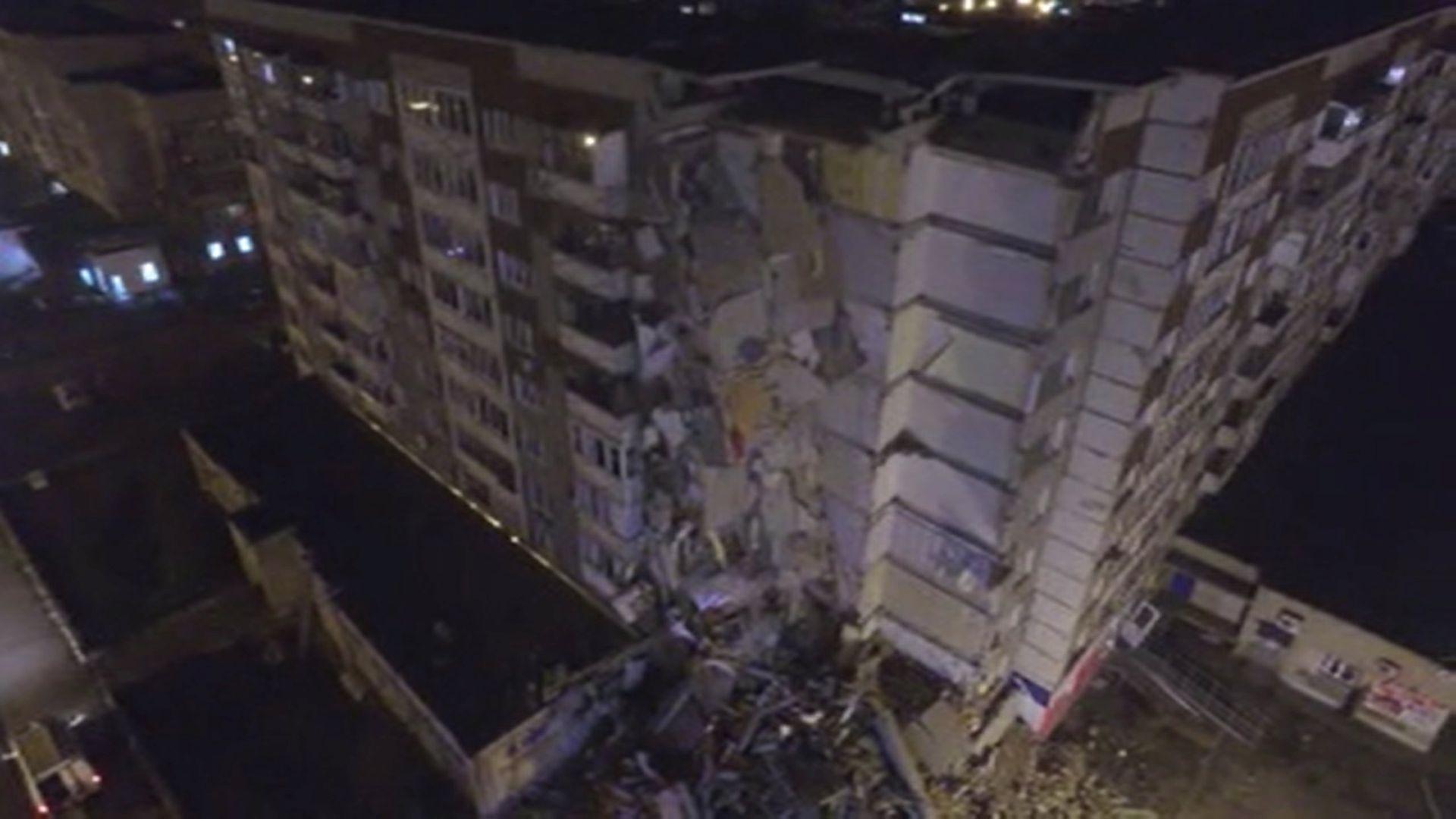 RUSIJA U urušavanju zgrade poginulo šest osoba