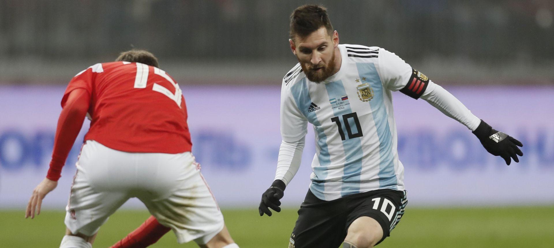 PRIJATELJSKA UTAKMICA Aguero jedini srijelac u pobjedi Argentine nad Rusijom