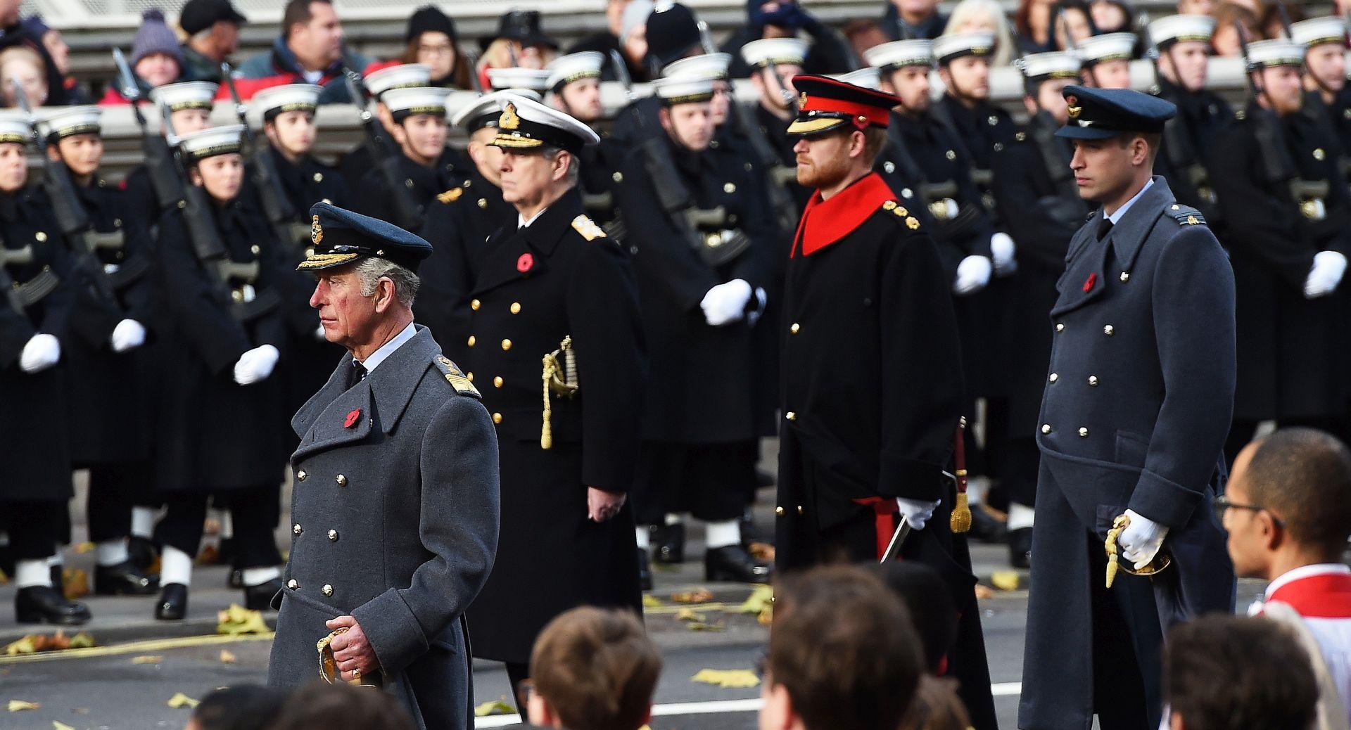 """Princ Charles zamijenio kraljicu na komemoraciji """"Dana sjećanja"""""""