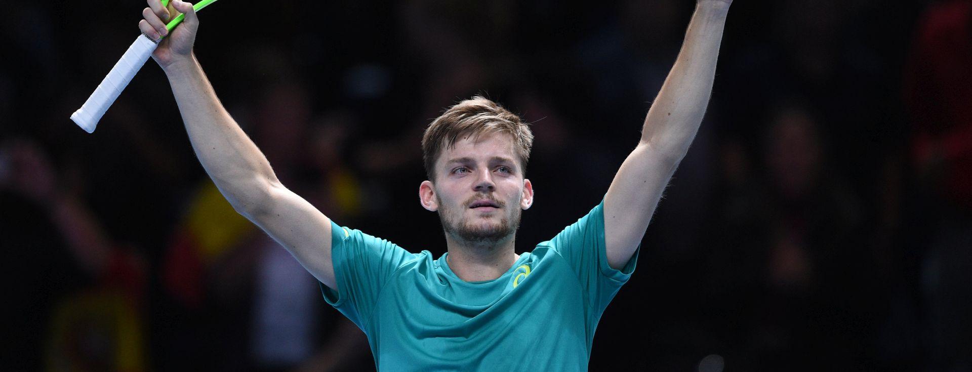 ATP FINALS Goffin 'iznenadio' Federera i plasirao se u finale