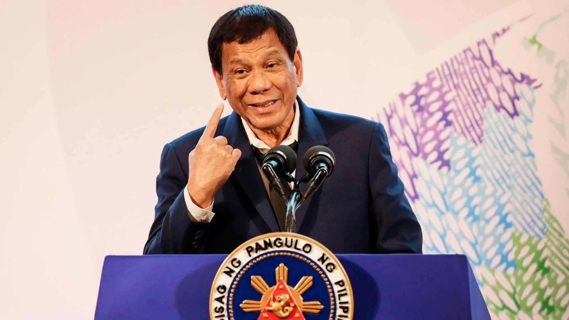 Duterte kritizirao Trudeaua na kraju summita na Filipinima