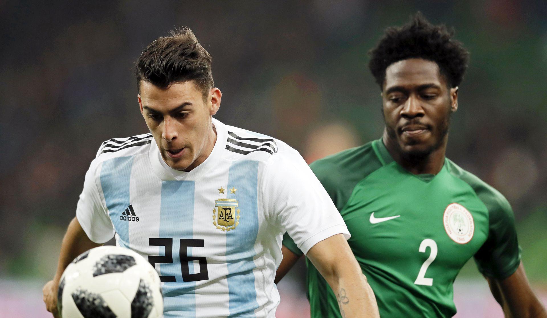 PRIJATELJSKI SUSRET Argentina vodila 2:0, pa primila četiri gola od Nigerije