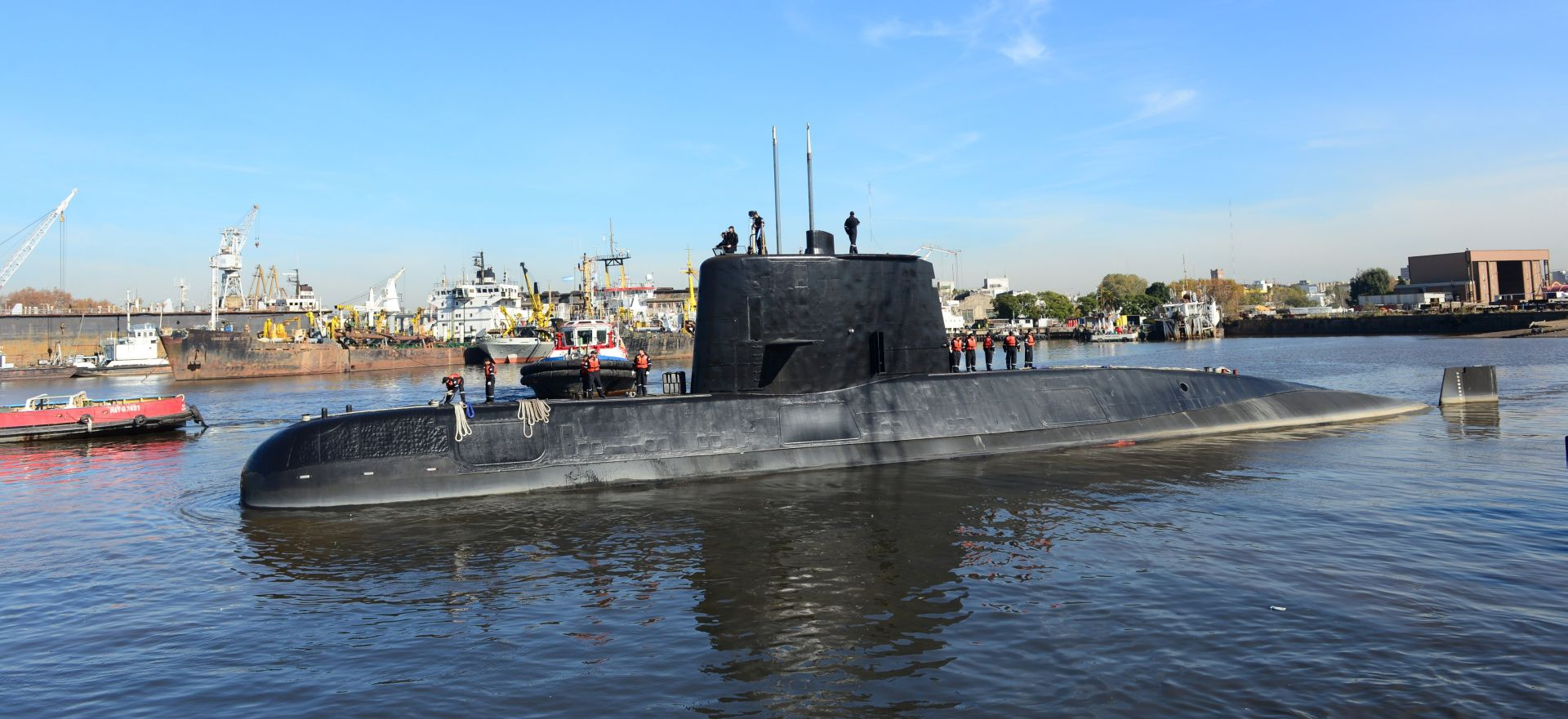Obustavljena potraga za nestalom argentinskom podmornicom