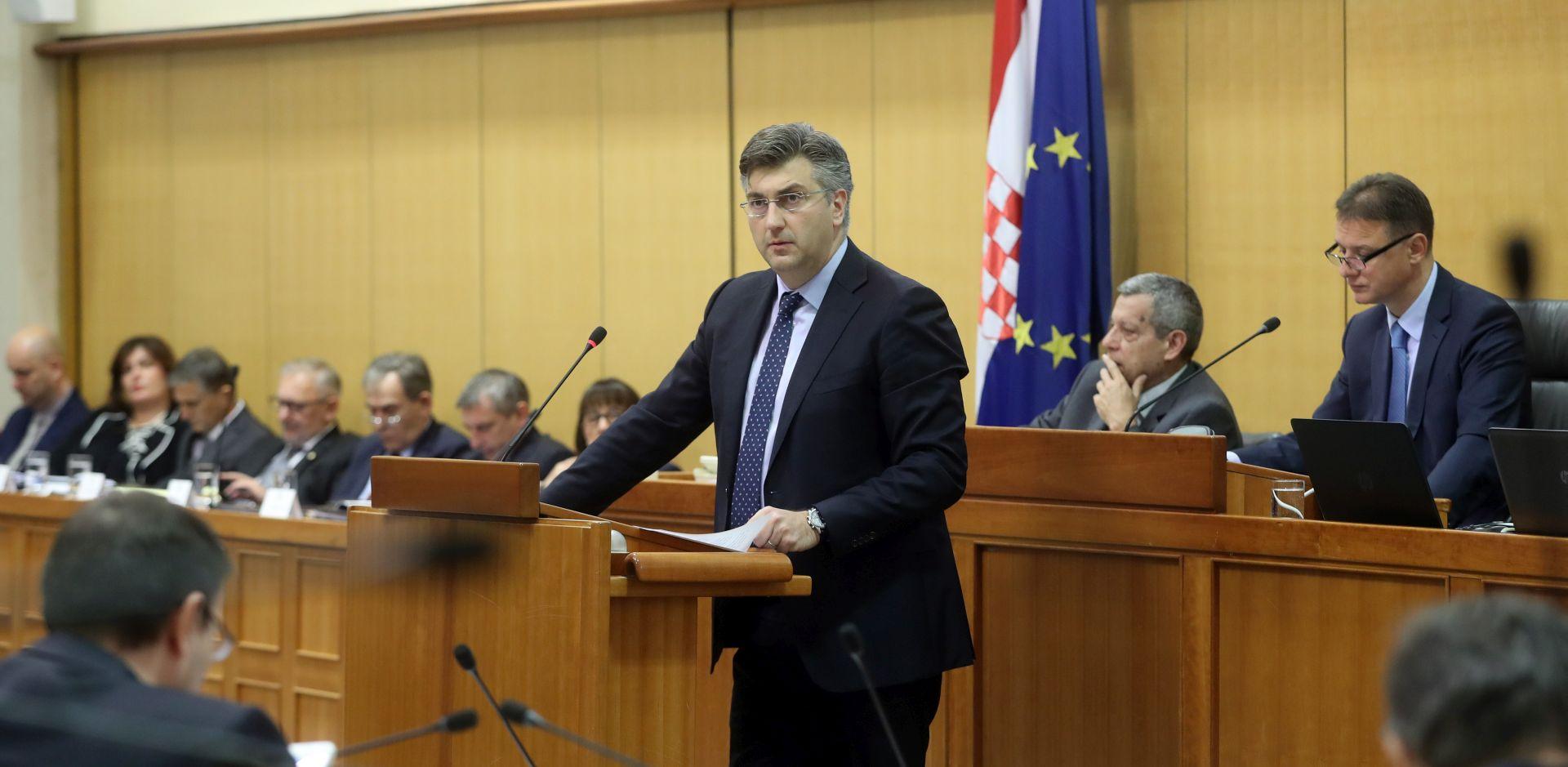 PLENKOVIĆ PREDSTAVIO PRORAČUN 'Brže približavanje standardu života u drugim članicama EU'