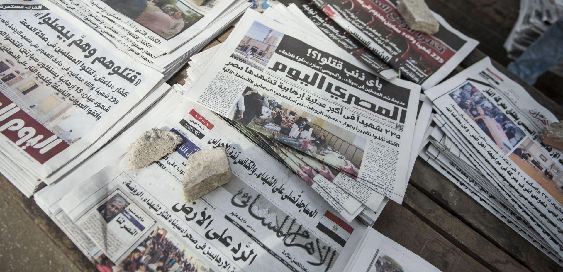 MASAKR NA SINAJU Broj mrtvih prešao 300, napadači nosili zastave IS-a