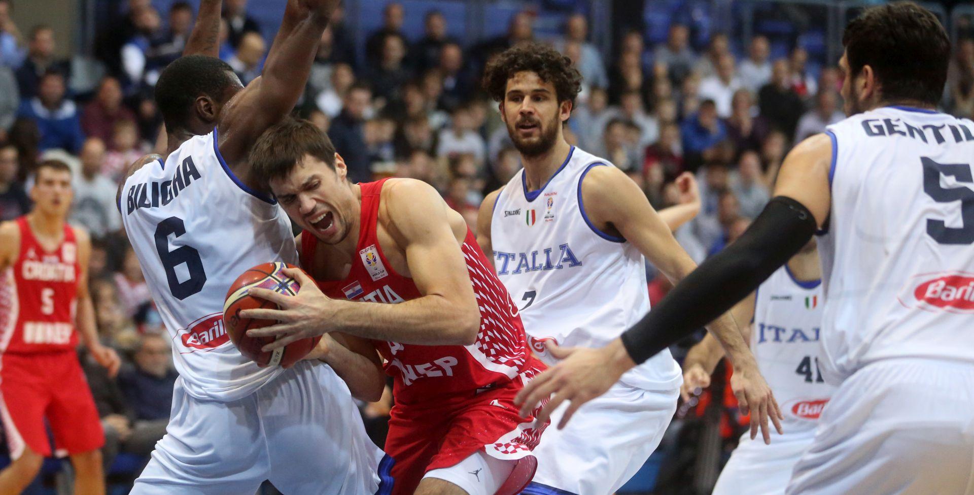 Novi poraz hrvatskih košarkaša