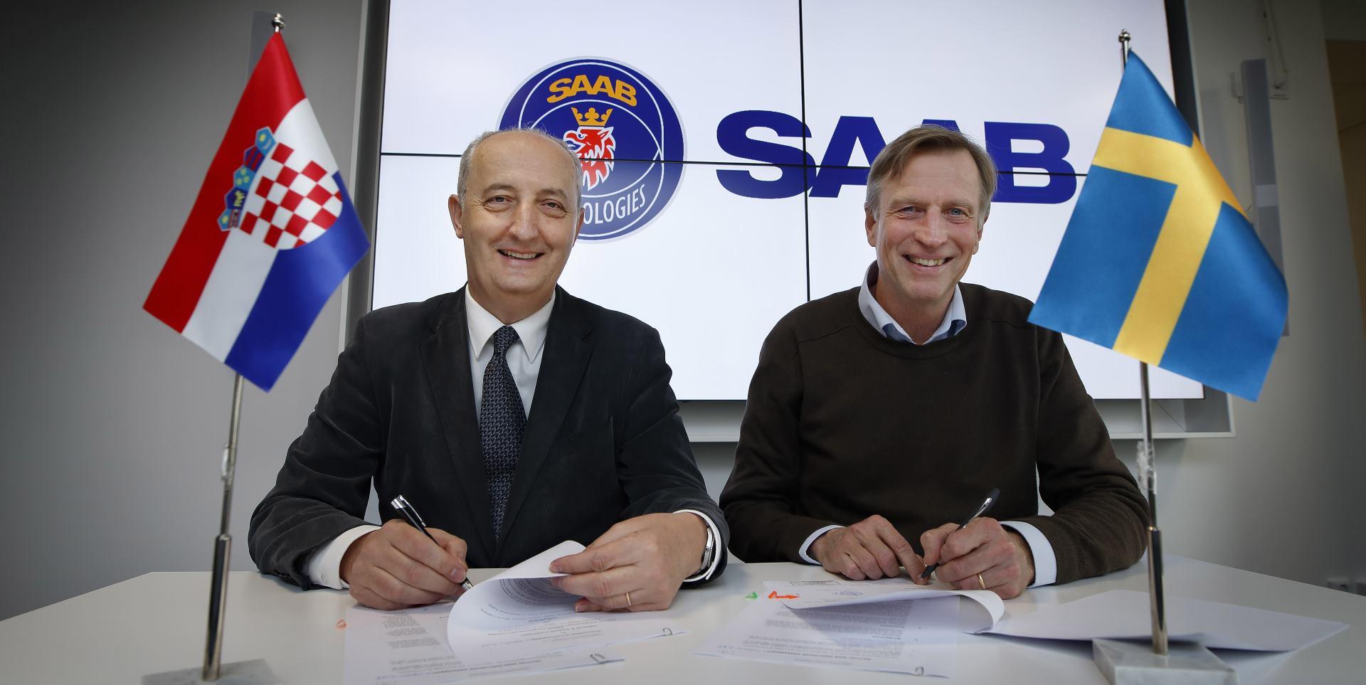 Saab podržava istraživanje i inovacije u sklopu Robotskog & autonomnog sustava u Hrvatskoj