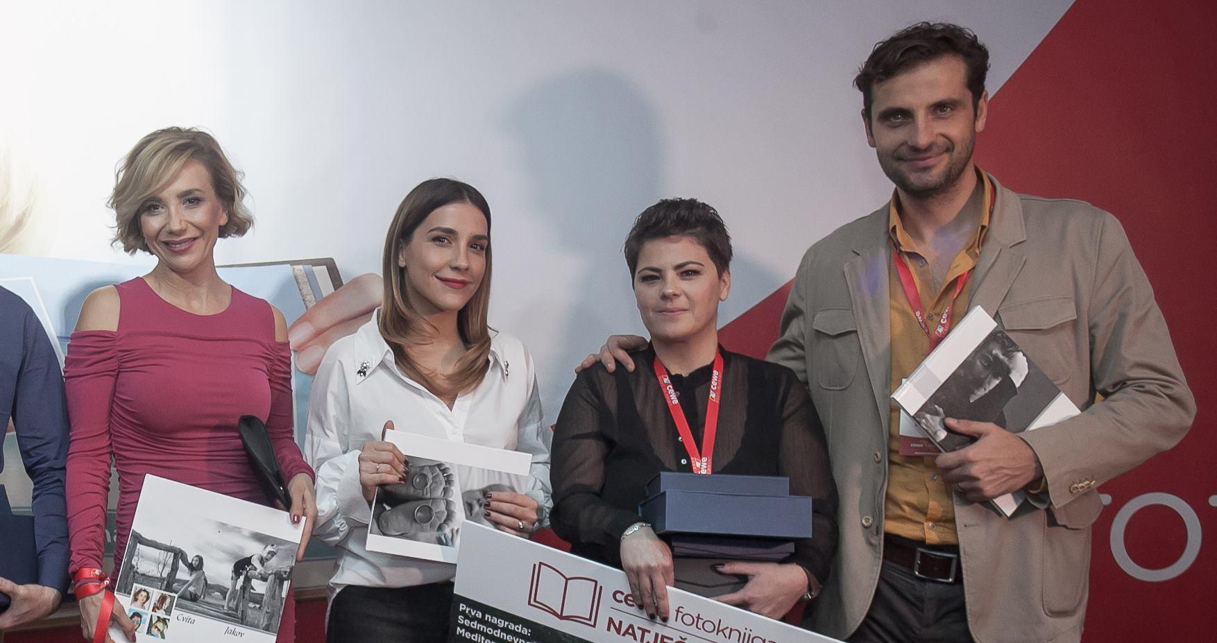 Marijana Batinić, Ecija Ojdanić i Robert Kurbaša novi zadovoljni korisnici CEWE fotoknjige