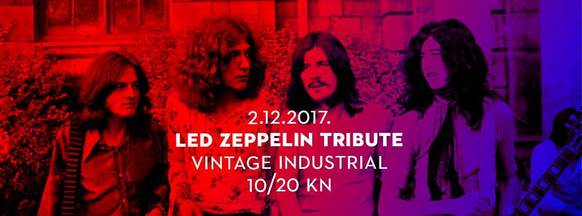 LED ZEPPELIN TRIBUTE Rock Masters & Ervin Baučićvraćaju seu Savsku 160