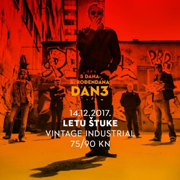 LETU ŠTUKE Traje proslava petog rođendana Vintage Industriala