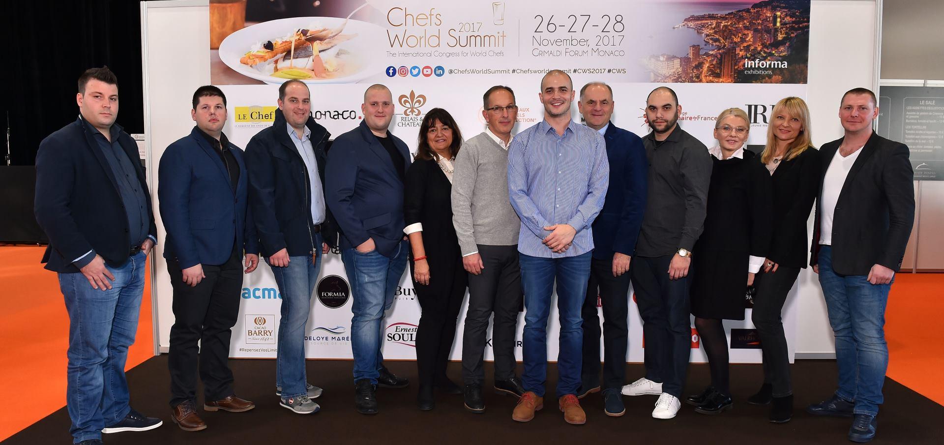 FOTO: Chef Melkior Bašić predstavio Hrvatsku na Chefs World Summitu u Monaku