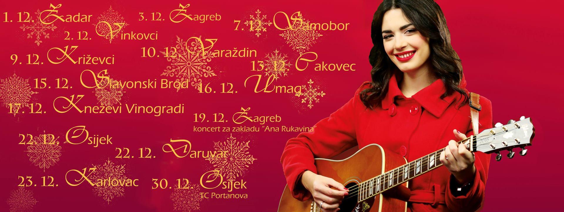 Od petka, 01. prosinca, u prodaji novi album Mie Dimšić – 'Božićno jutro'