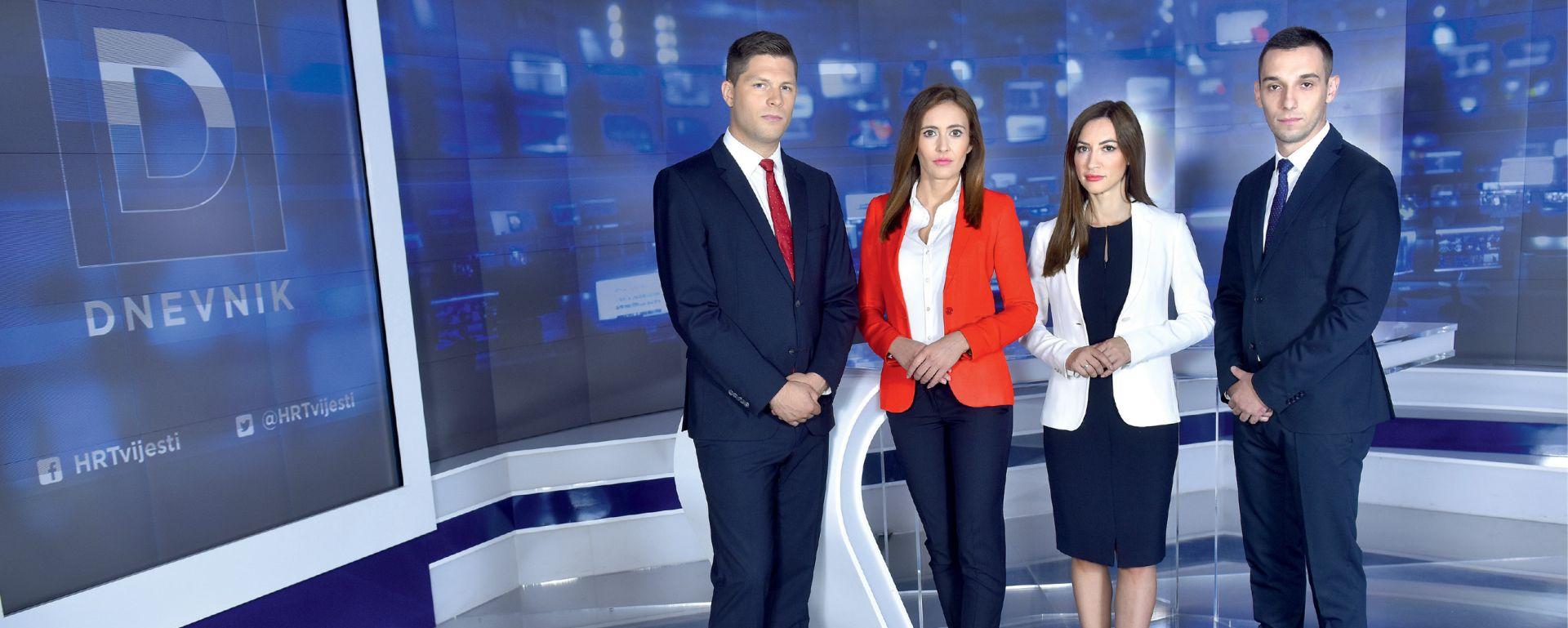 Pokušaj HRT-a da poveća gledanost: Mladi voditelji Dnevnika