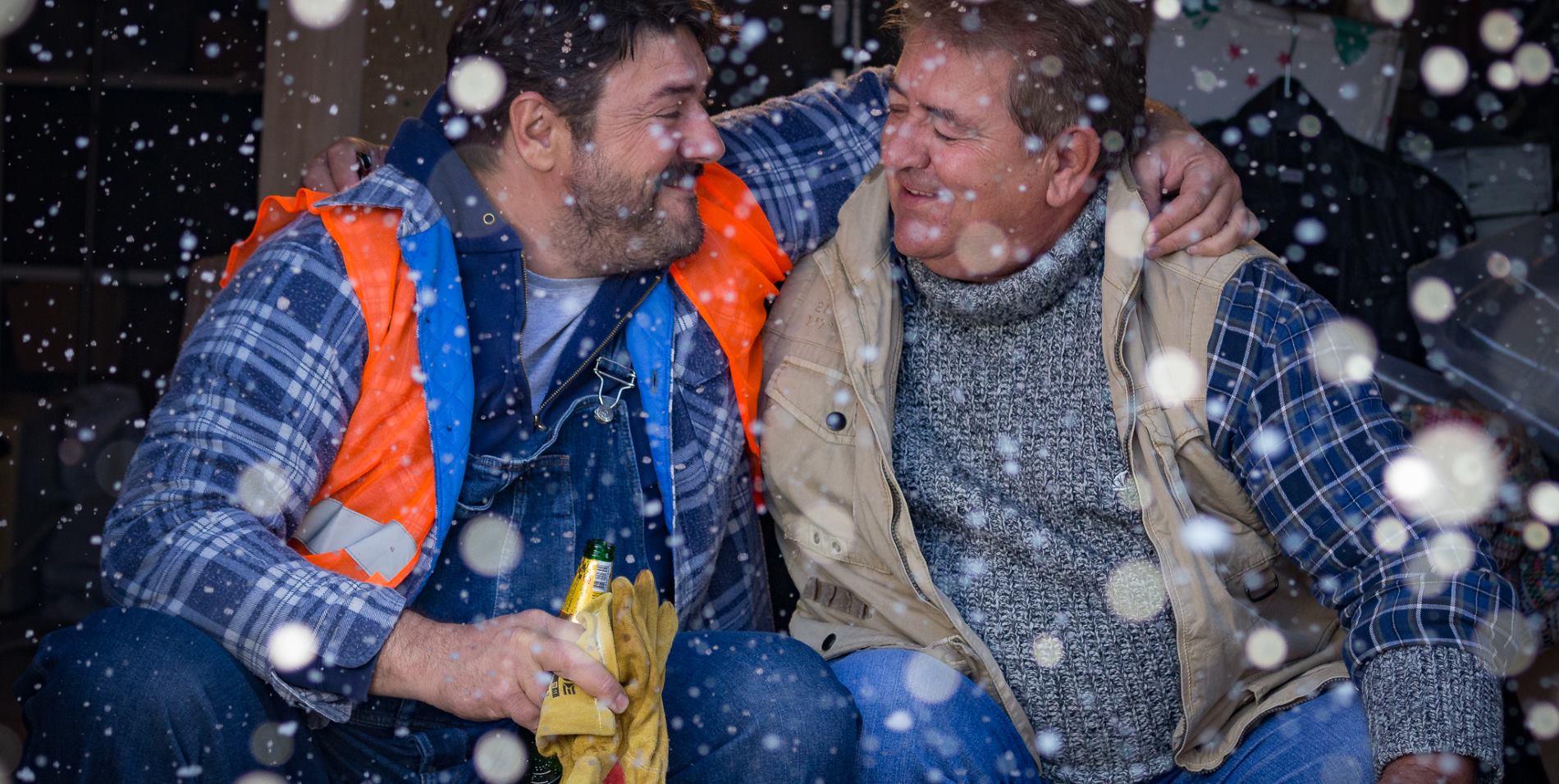 VIDEO: Tata i sin Navojec u dirljivom božićnom televizijskom spotu Ožujskog piva