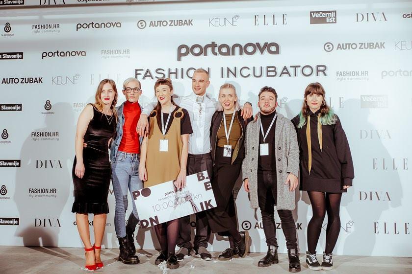 FOTO: PORTANOVA FASHION INCUBATOR Titulu najbolje odnijela je mlada dizajnerica Marijana Cigić