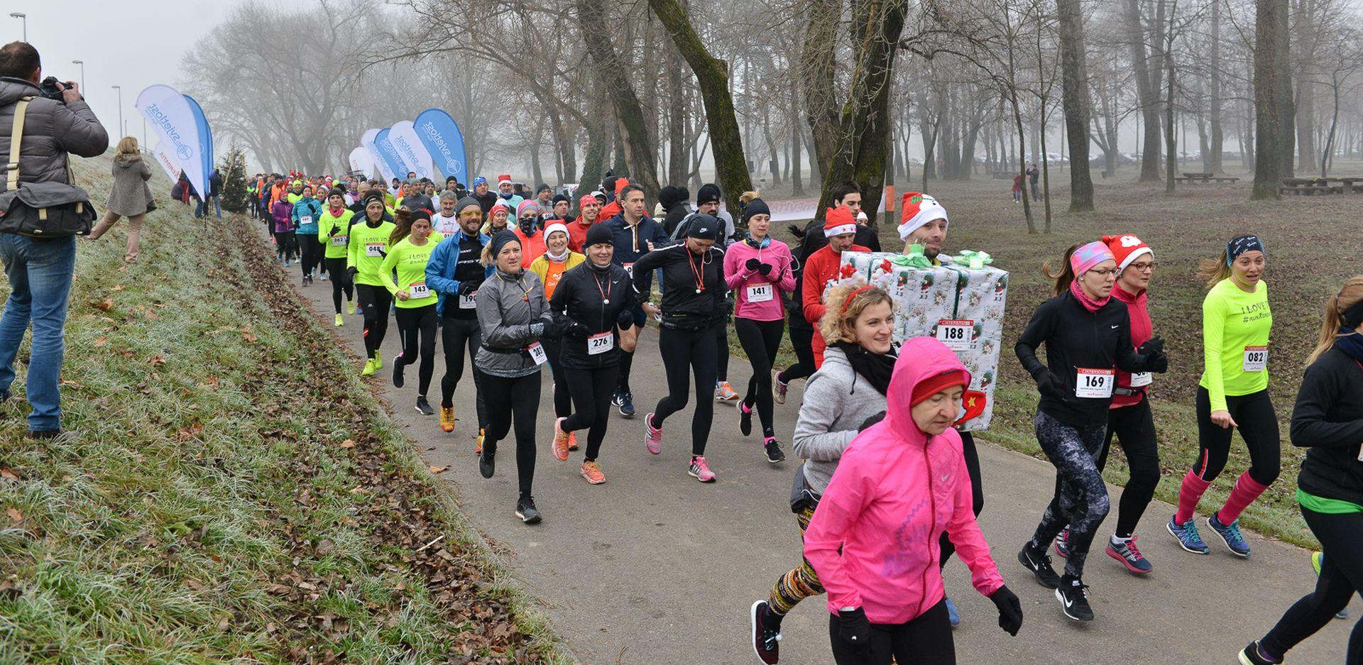 ZAGREB ADVENT RUN U sklopu ovogodišnjeg Adventa i humanitarna utrka
