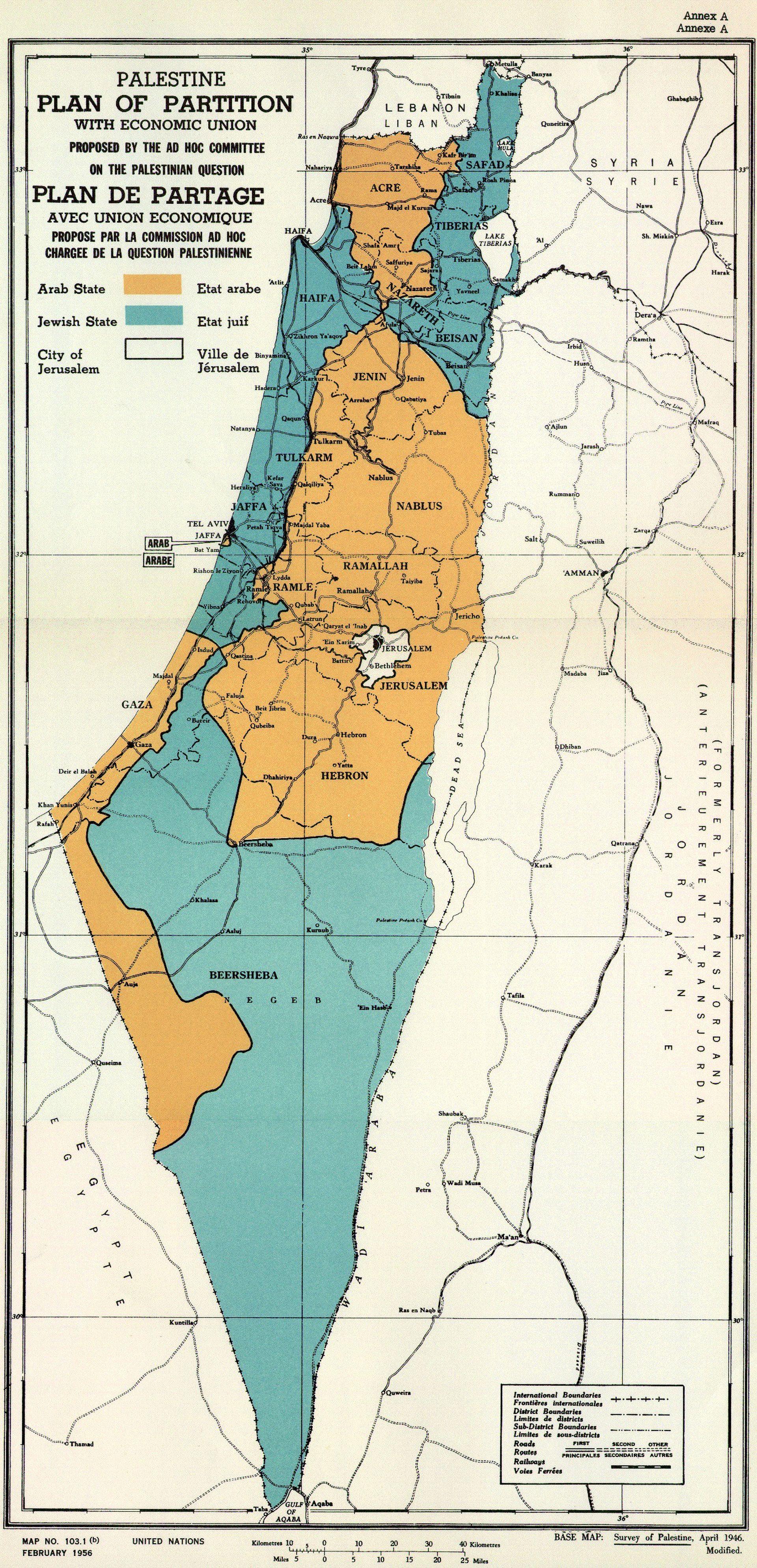 Sedamdeset godina od UN-ove podjele Palestine