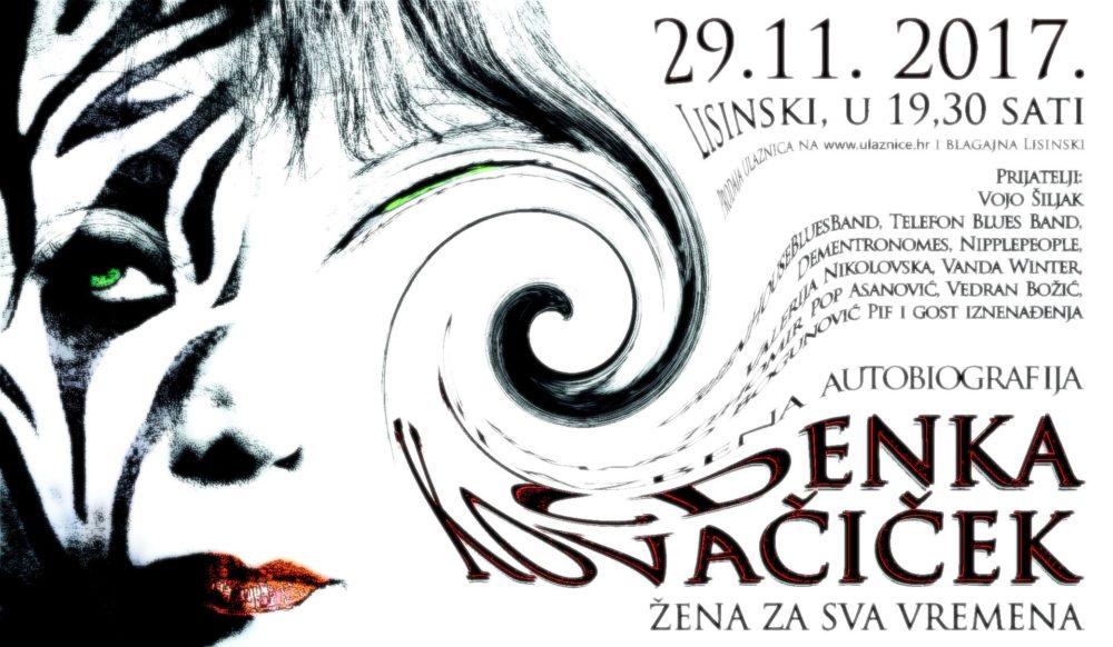 KD LISINSKI Zdenka Kovačiček priprema jubilarni koncert 'Glazbena autobiografija'