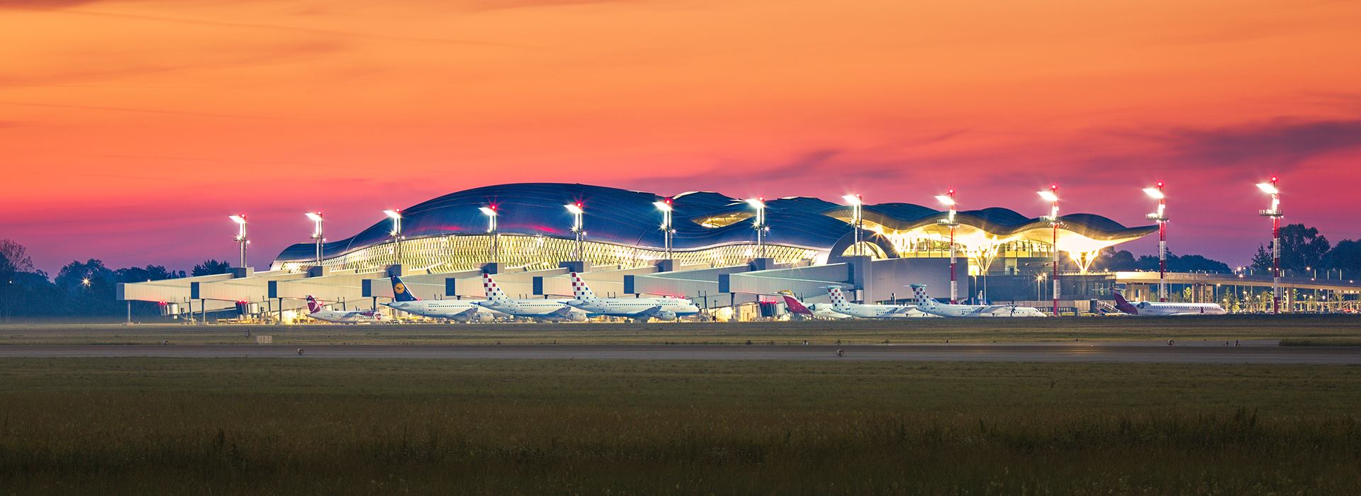 Zračna luka Franjo Tuđman rekordna po broju putnika u ljetnom redu letenja 2017. godine