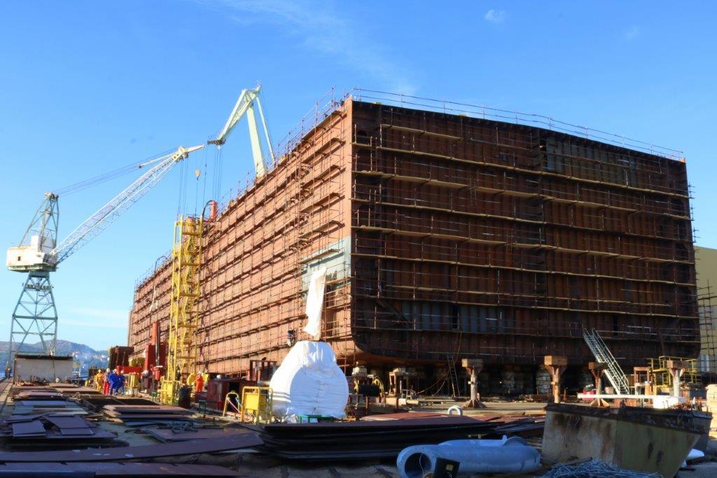Dobru suradnju finskog i trogirskog brodogradilišta podržali hrvatska predsjednica i predsjednik Ruske Federacije