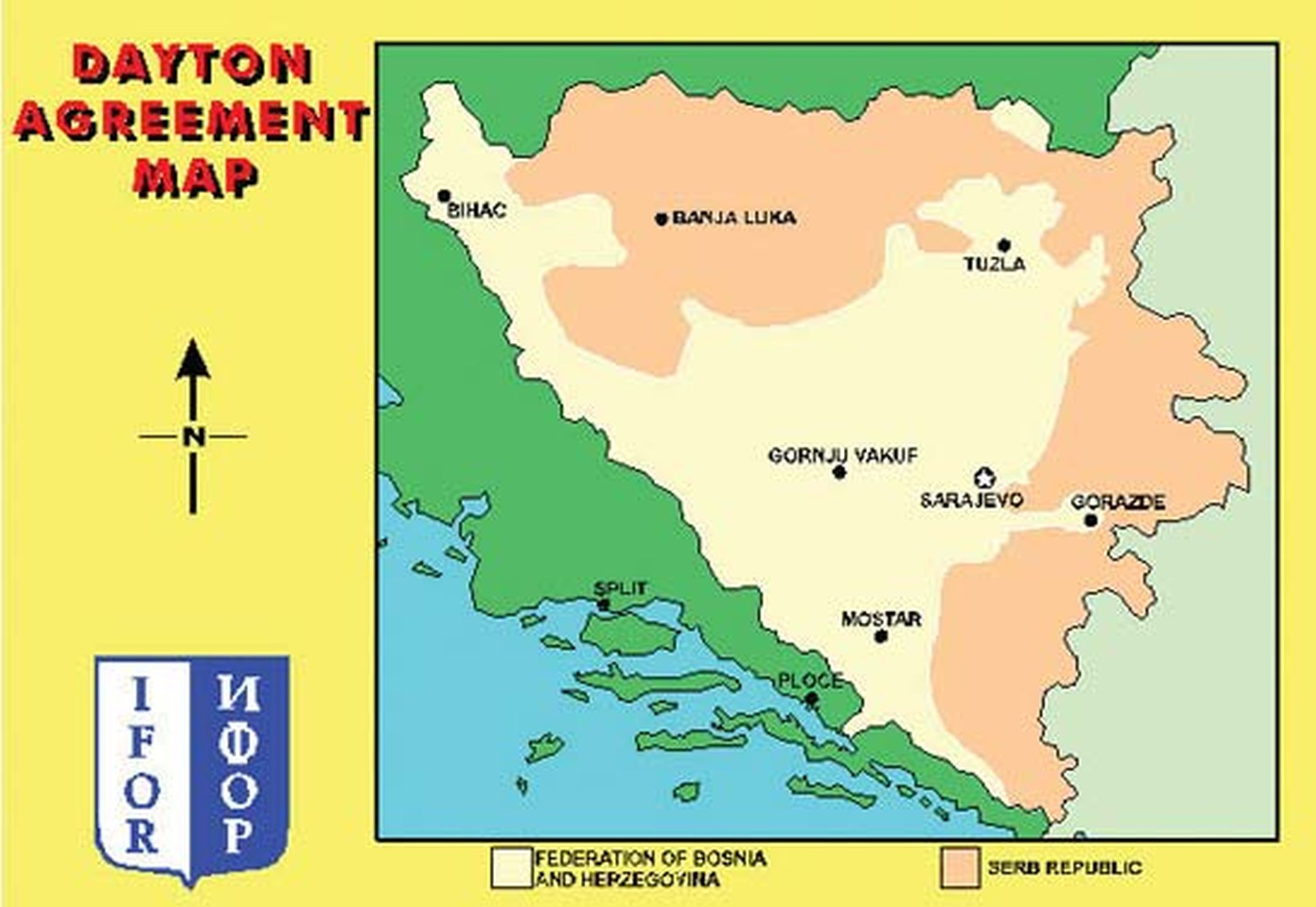DOLIJAO PREPRODAVAČ BiH: Orginal Daytonskog sporazuma prodavao za 50.000 eura