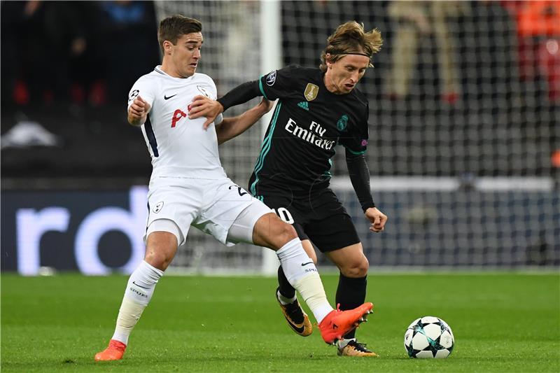 Modrić igra protiv Atletico Madrida