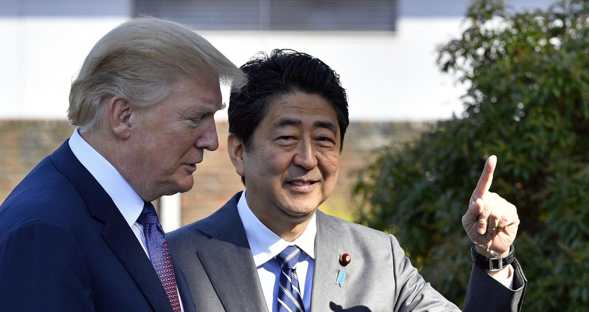 AIR FORCE ONE SLETIO Trump doputovao u Japan; obećao američku odlučnost