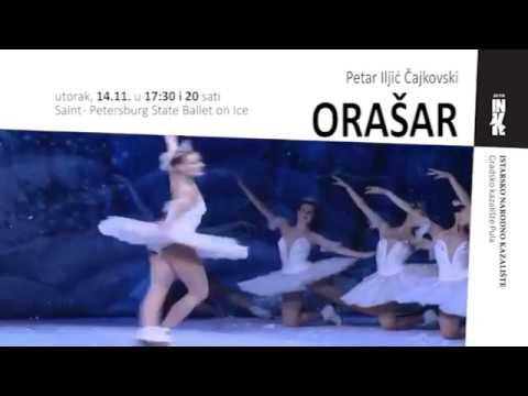 """Izvedba """"Orašara"""" u Istarskom narodnom kazalištu"""
